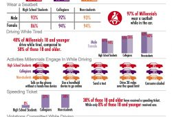 D.W.Y. (Driving While Young) Infographic