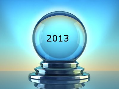 A Look Into The Crystal Ball: Top Trends For 2013