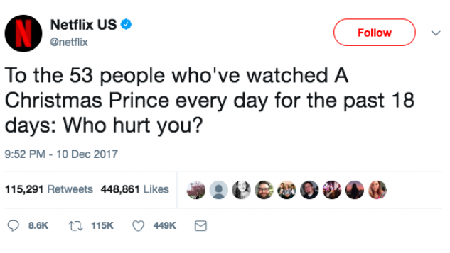 Netflix's Tweets Roasting Users Go Up In Flames on The Viral List