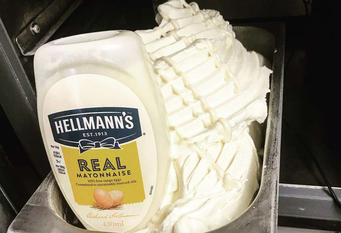 Hellmann's Mayo Ice Cream Is Disgusting The Internet On The Viral List
