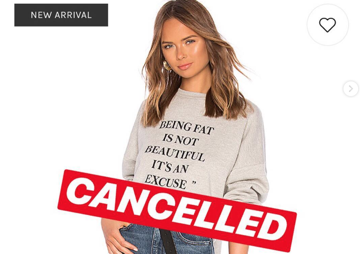 A Sweatshirt Fail Has This Millennial Brand Under Fire