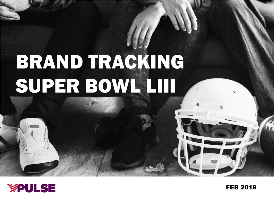 Brand Tracker Report: Super Bowl LIII Ads