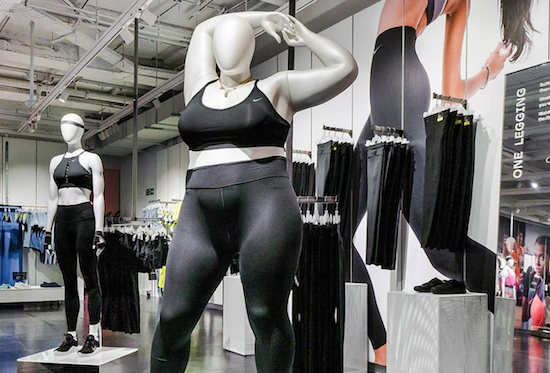 Nike's Plus-Size Controversy Is Boosting Profits On The Viral List