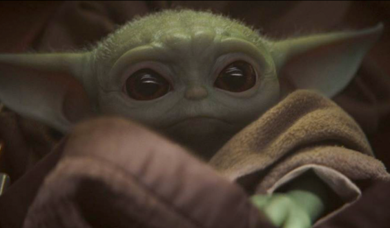 Baby Yoda Wins The Heart of the Internet on The Viral List