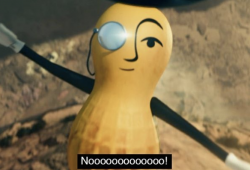 The Death of Mr. Peanut is on the Viral List