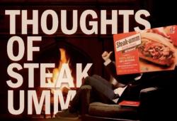 Steak-Umm For President in 2020 on The Viral List