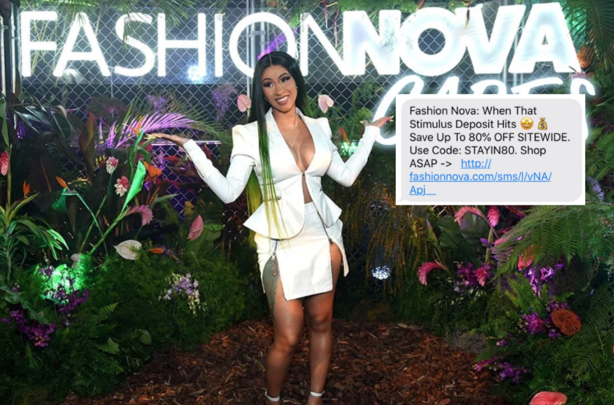 Customers Aren't Happy About Fashion Nova Asking Them To Spend Stimulus Checks on Clothes, on the Viral List